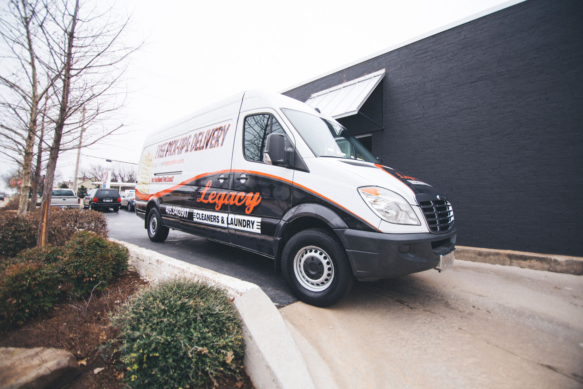 Our Pick-up and Delivery Van